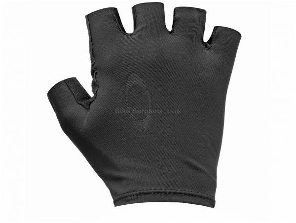 Oakley Mitts S,M, Black, Men's, Short Finger, Polyester, Elastane