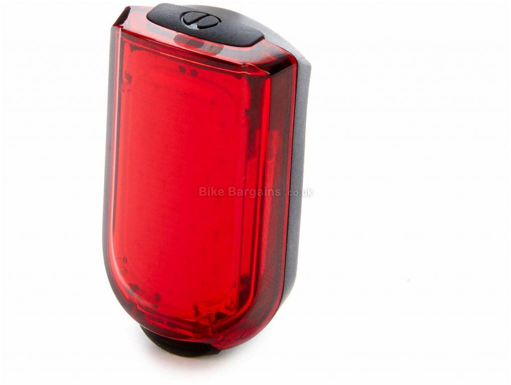 PBK 20L Rear Light 20 Lumens, Black, Red, Rear, 18g, Nylon, Silicone
