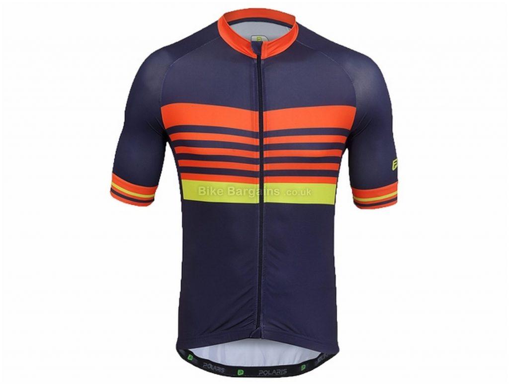 Polaris Control Challenge Short Sleeve Jersey S,M, Green, Men's, Short Sleeve, Polyester, Elastane