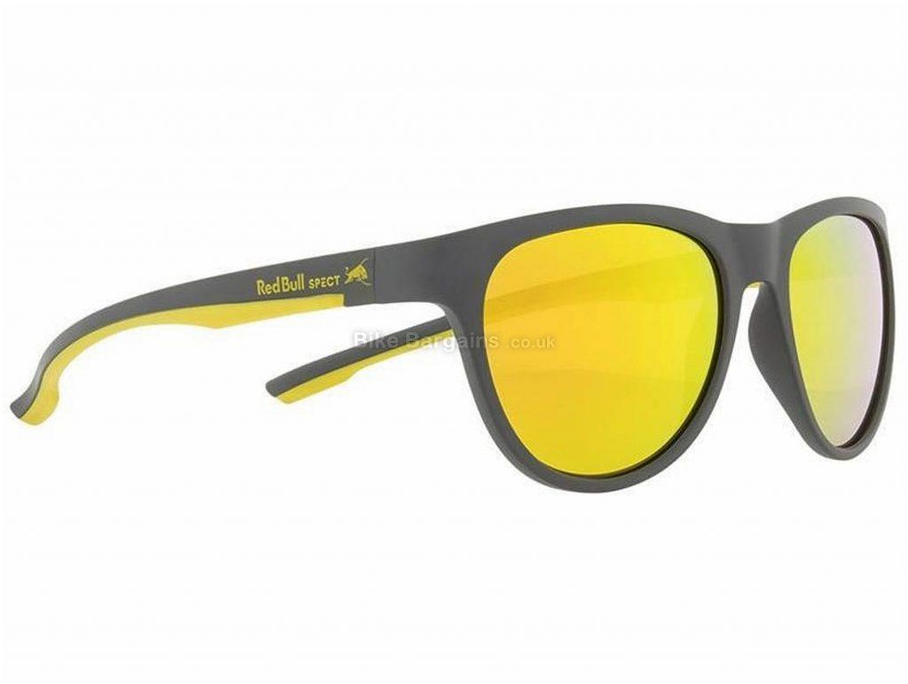 Red Bull Spect Eyewear Spin Sunglasses One Size, Black, Grey, White, Unisex, Polycarbonate