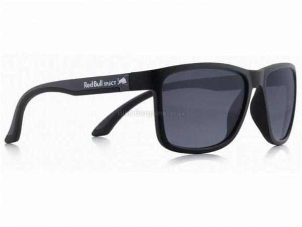 Red Bull Spect Eyewear Twist Sunglasses One Size, Black, Grey, Unisex, Polycarbonate