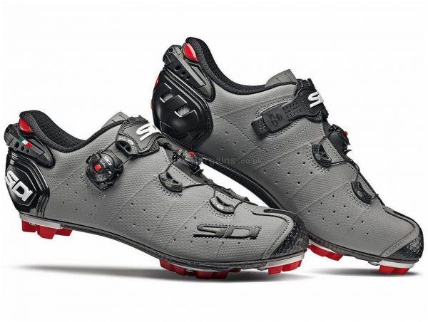 Sidi Drako 2 Matt SRS MTB Shoes 38, Blue, Black, Men's, Boa Fastening, Synthetic Leather, Carbon