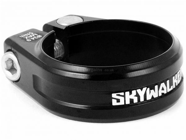Sixpack Racing Skywalker CNC Seat Clamp 31.8mm, Red, Alloy