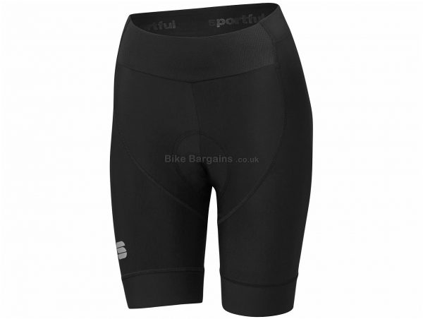 Sportful Ladies Bodyfit Pro Shorts S, Blue, Black, Ladies, Polyamide, Polyester, Elastane