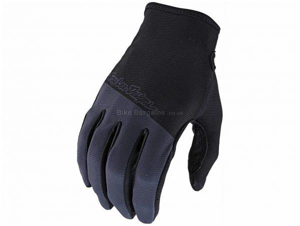 Troy Lee Designs Flowline Gloves 2020 S,M,L,XL,XXL, Grey, Orange, Green, Brown, Men's, Full Finger, Polyester