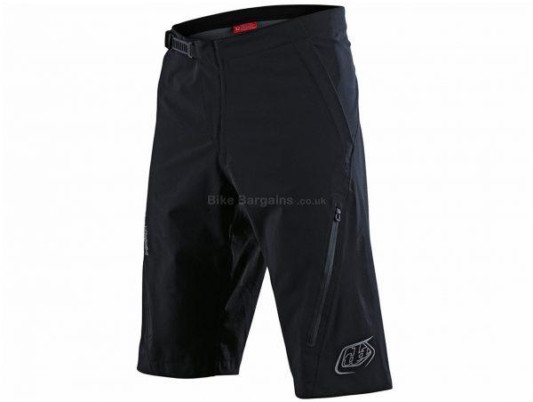 Troy Lee Designs Resist Shell MTB Shorts 2020 38, Grey, Men's, Baggy Fit, Nylon, Elastane