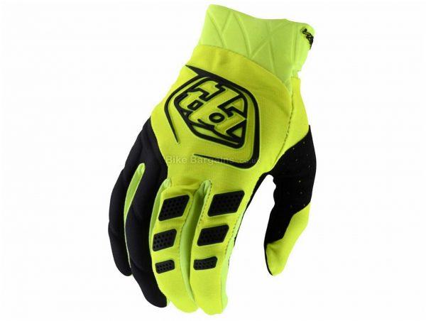 Troy Lee Designs Revox Gloves XXL, Yellow, Black, Men's, Full Finger, Polyester