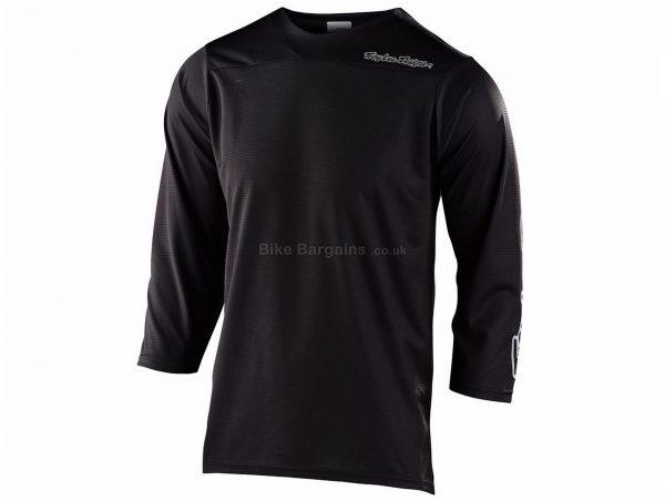 Troy Lee Designs Ruckus 3/4 Sleeve Jersey 2020 S, Red, Black, Grey, Green, Men's, 3/4 Sleeve, Polyester