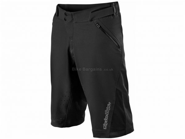 Troy Lee Designs Ruckus V2 Lined MTB Shorts 38, Black, Men's, Baggy Fit, Polyester