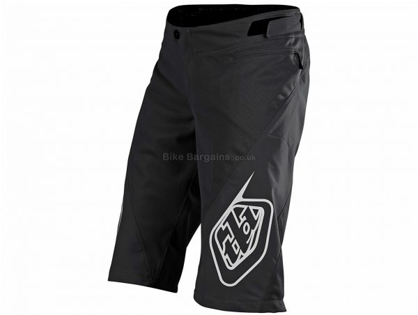 Troy Lee Designs Sprint Shell MTB Shorts 2020 38, Black, Red, Men's, Baggy Fit, Polyester, Elastane