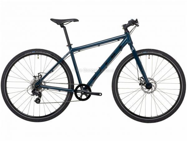 "Vitus Dee Tourney Alloy City Bike 2021 M,L, Blue, Alloy Frame, 7 Speed, Disc Brakes, 29"" Wheels, Single Chainring"