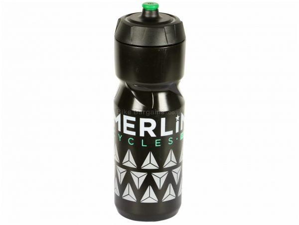 Zefal Sense Grip 80 800ml Merlin Water Bottle 800ml, Black, Green, Polypropylene