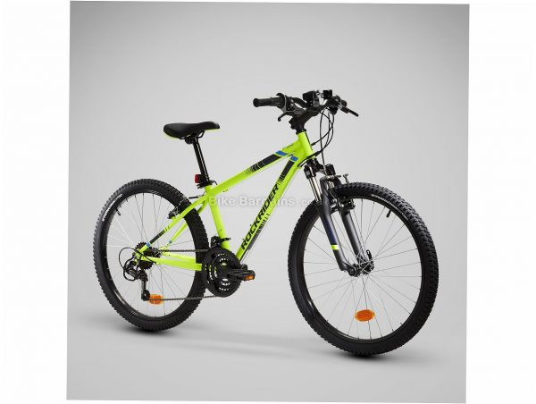 "B'Twin Rockrider ST 500 24"" Kids Hardtail Mountain Bike M, Black, Steel Frame, 18 Speed, 24"" wheels, Caliper Brakes, Triple Chainring"