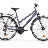 B'twin Elops Hoprider 100 Long Distance Low Frame Alloy City Bike
