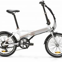 B'twin Riverside Tilt 500 Electric Alloy Folding City Bike