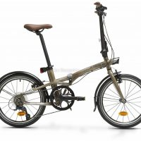B'twin Tilt 900 Alloy Folding City Bike