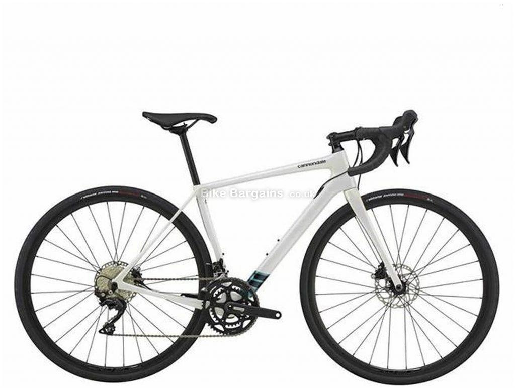 Cannondale Synapse Carbon 105 Ladies Road Bike 2021 44cm, White, Ladies, 22 Speed, Carbon Frame, 700c wheels, Double Chainring, Disc Brakes
