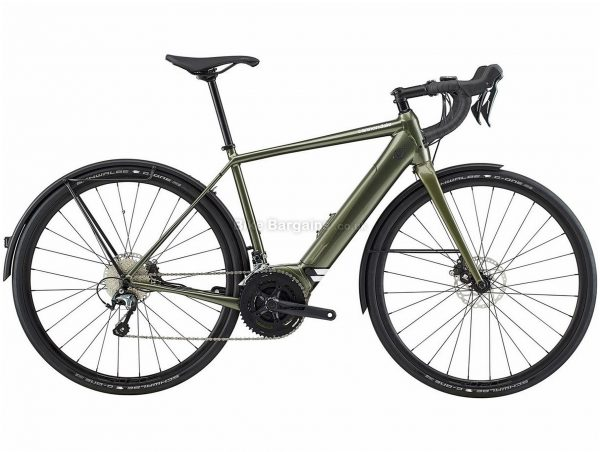 Cannondale Synapse Neo EQ Alloy Electric Road Bike 2020 M, Green, Men's, 20 Speed, Alloy Frame, 700c wheels, Double Chainring, Disc Brakes