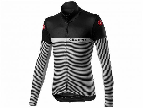Castelli Marinaio FZ Long Sleeve Jersey 2020 XS, Black, Grey, Orange, Red, White, Blue, Long Sleeve, 372g, Polyester, Elastane