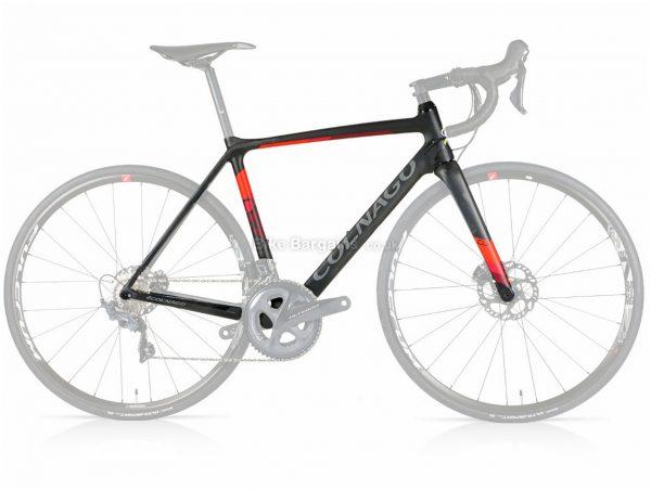 Colnago CLX Disc Carbon Road Frame 2020 52cm, Black, Grey, Red, Green, Yellow, Men's, Carbon Frame, Disc Brakes, 700c