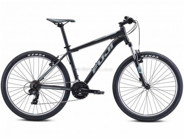"Fuji Nevada 26 1.9 V-Brake Urban Alloy City Bike 2021 13"", Black, Alloy Frame, 26"" Wheels, 21 Speed, Caliper Brakes, Hardtail Frame, Front Suspension, Triple Chainring"
