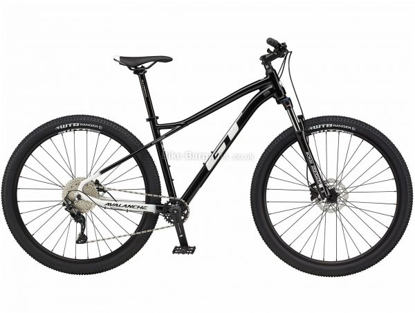 """GT Avalanche Comp Alloy Hardtail Mountain Bike 2021 M, Black, Alloy Frame, 27.5"""", 29"""" Wheels, Disc Brakes, 10 Speed, Single Chainring, Hardtail, Suspension Forks"""
