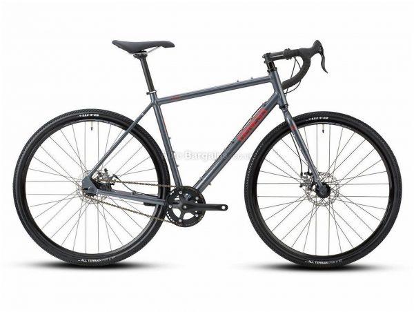 Genesis Flyer Sports Alloy City Bike 2021 XS,S,M,L,XL, Grey, Alloy Frame, 700c Wheels, 1 Speed, Disc Brakes, Rigid Frame, Single Chainring