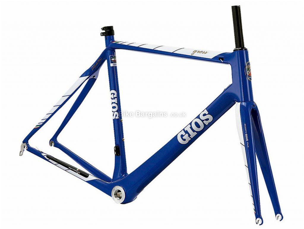 Gios Gress Carbon Road Frame 48cm,50cm,52cm,54cm, Blue, 1.46kg, Carbon Frame, 700c wheels, Caliper Brakes