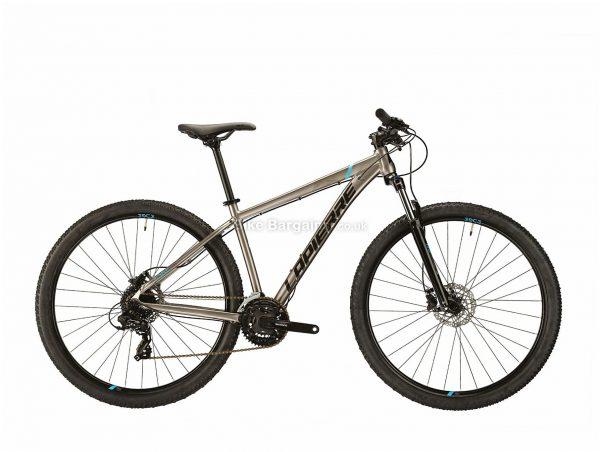 "Lapierre Edge 27.5 29 Alloy Hardtail Mountain Bike 2021 M, Grey, Black, Alloy frame, 24 Speed, 27.5"",29"" wheels, 14.5kg, Disc Brakes, Triple Chainring, Hardtail Frame, Suspension Fork"