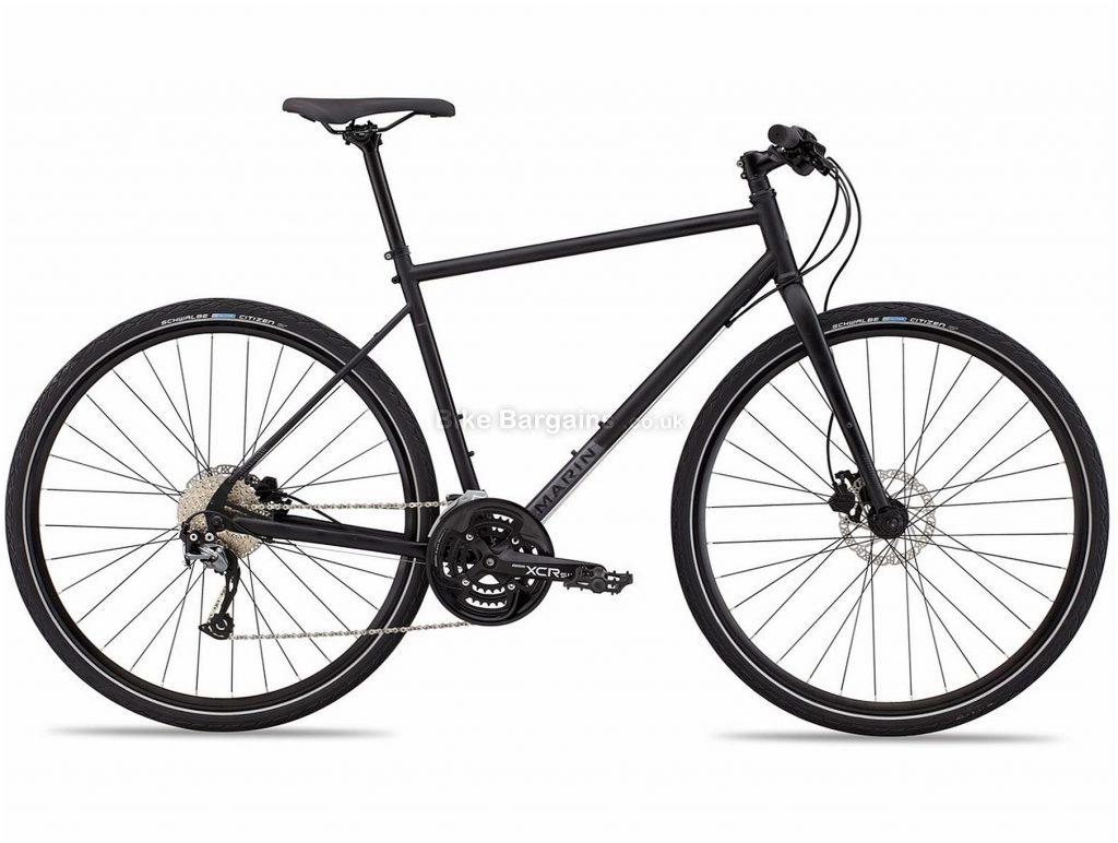 "Marin Muirwoods Steel City Bike 2021 15"",17"",19"",20"",22"", Red, Yellow, Green, Steel Frame, 700c Wheels, 27 Speed, Disc Brakes, Rigid Frame, Triple Chainring"