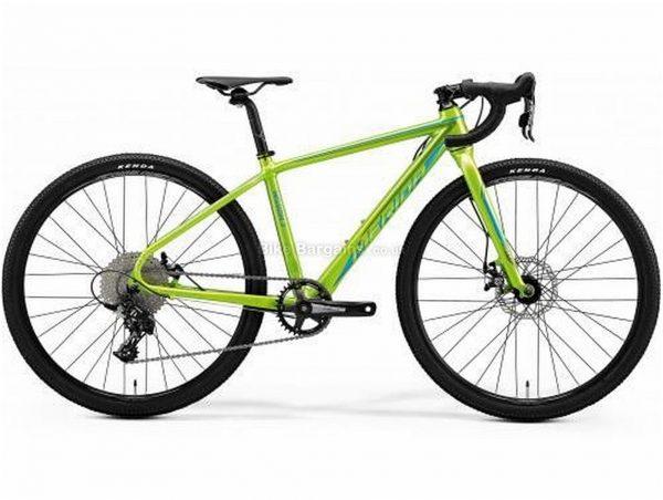 "Merida Mission J.CX 26w Kids Alloy Cyclocross Bike 2020 39cm, Green, Alloy Frame, 26"" Wheels, 7 Speed, Disc Brakes, Rigid Frame, Single Chainring"