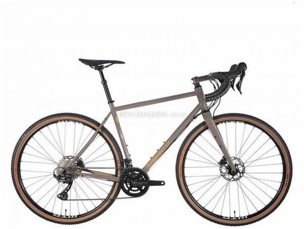 Norco Search XR S1 Steel Gravel Bike 2020 50cm, Grey, Men's, 22 Speed, Steel Frame, 700c wheels, Double Chainring, Disc Brakes