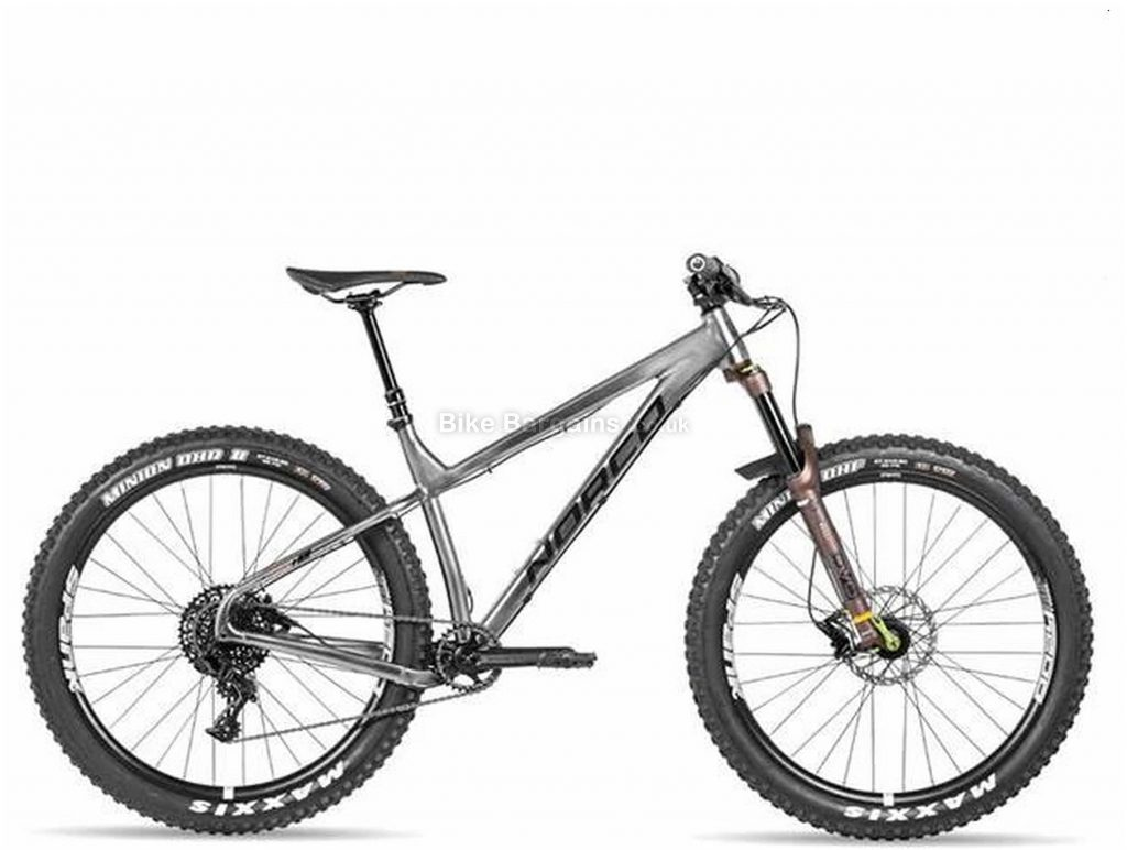 "Norco Torrent S1 HT GX Eagle 29"" Steel Hardtail Mountain Bike 2020 S, Silver, 14.9kg, Men's, 12 Speed, Steel Frame, 29"" wheels, Single Chainring, Disc Brakes, Hardtail"