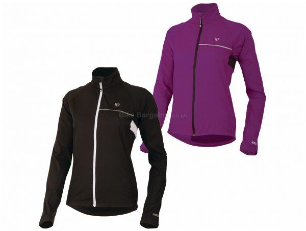 Pearl Izumi Ladies Elite Barrier Jacket S, Black, Long Sleeve, Polyester