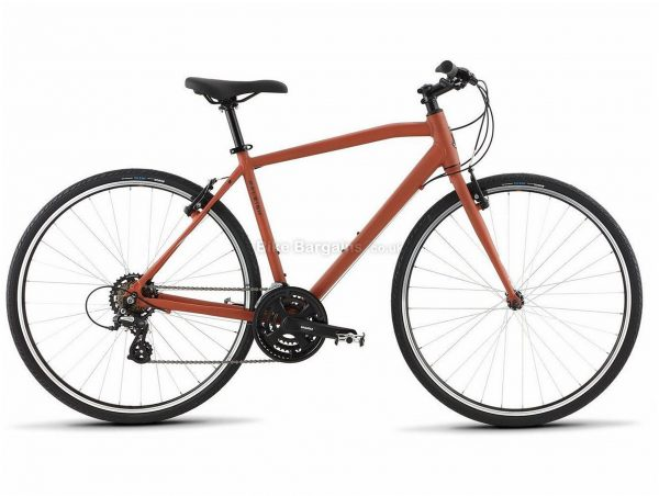 Raleigh Cadent 1 Alloy City Bike 2020 S,M,L,XL, Red, Alloy Frame, 700c Wheels, Caliper Brakes, 21 Speed, Triple Chainring