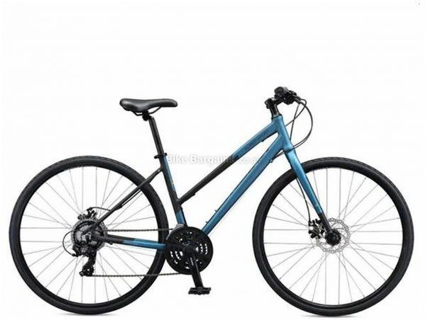 Schwinn Supersport Ladies Alloy City Bike 2020 L, Blue, Black, Alloy Frame, 700c wheels, 21 Speed, Disc Brakes, Triple Chainring, Rigid