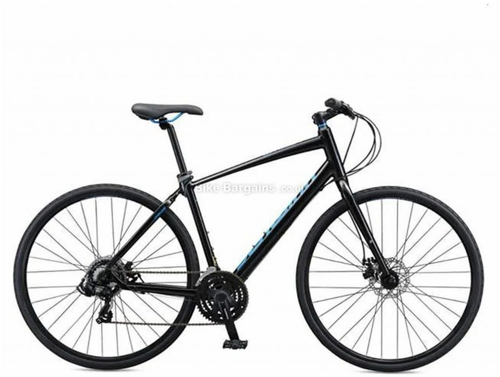 Schwinn Vantage FB3 Alloy City Bike 2020 S, Black, Blue, Men's, 21 Speed, Alloy Frame, 700c wheels, Triple Chainring, Disc Brakes, Rigid