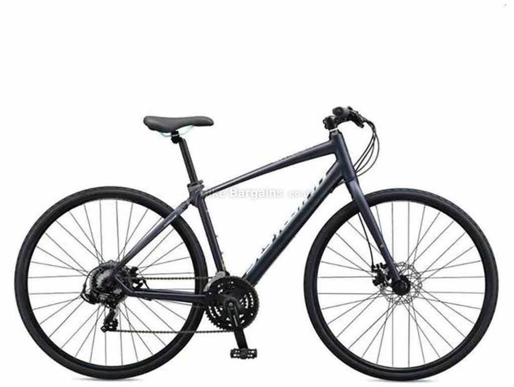Schwinn Vantage FB3 Ladies Alloy City Bike 2020 S, Blue, Ladies, 21 Speed, Alloy Frame, 700c wheels, Triple Chainring, Disc Brakes, Rigid