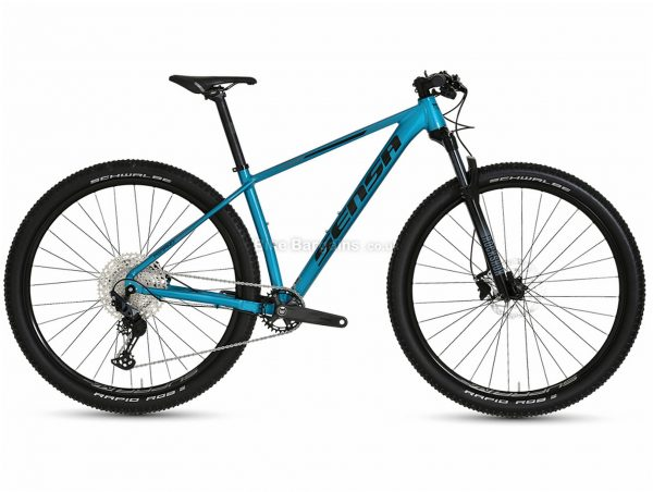 "Sensa Merano Evo Race Alloy Hardtail Mountain Bike 2021 19"", Blue, Black, Alloy Frame, 12 Speed, 29"" wheels, Disc, Single Chainring"