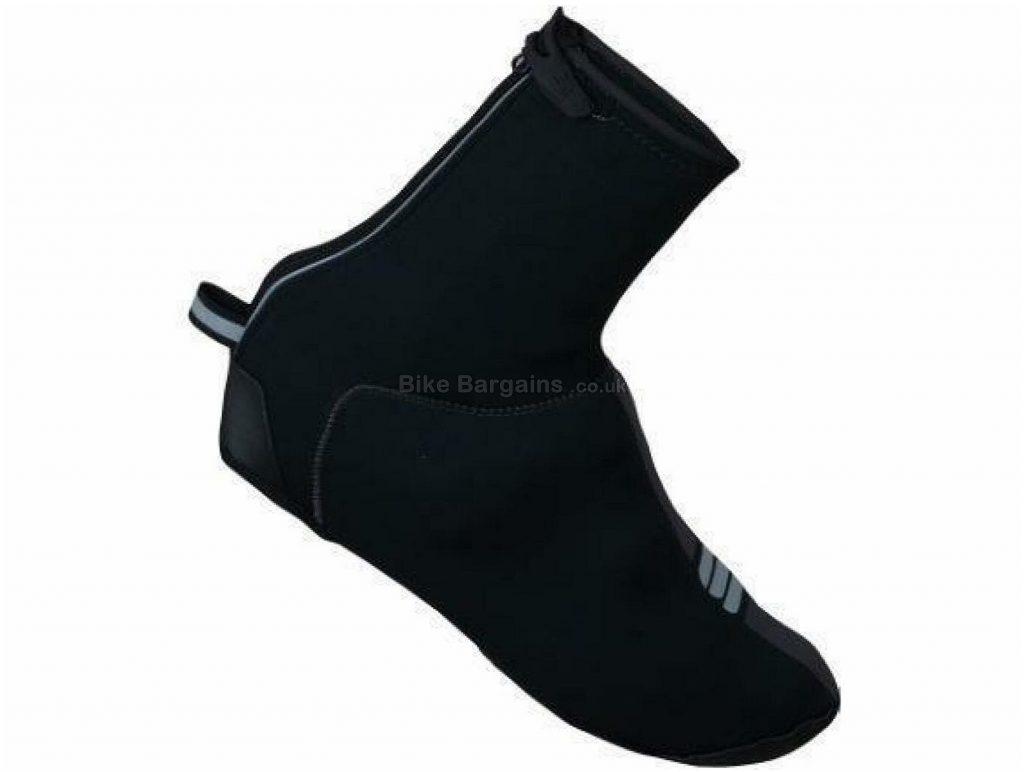 Sportful Neoprene All Weather Bootie Overshoes S, Black, Men's, Ladies, Neoprene, Velcro