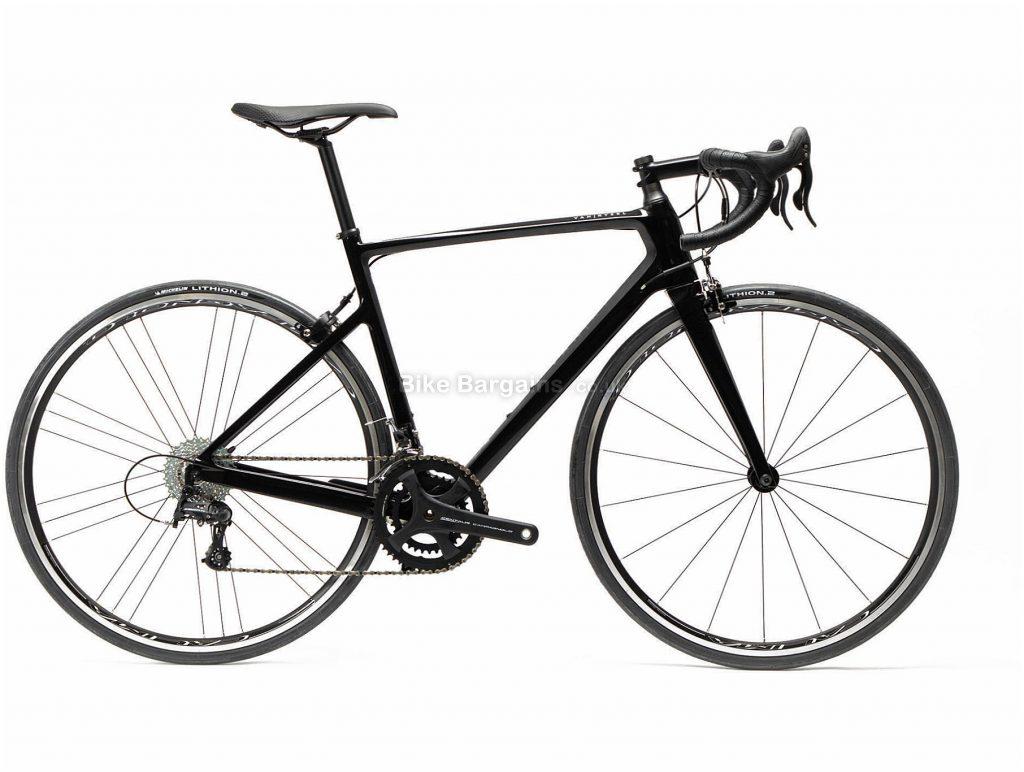 Van Rysel EDR CF Centaur Carbon Road Bike S, Black, Carbon Frame, 700c Wheels, 8.06kg, 22 Speed, Caliper Brakes, Double Chainring
