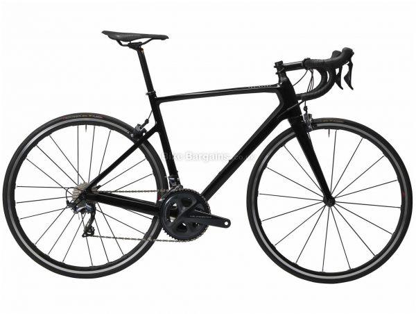 Van Rysel EDR CF Ultegra Carbon Road Bike S, Black, Carbon Frame, 700c Wheels, 22 Speed, Caliper Brakes, Double Chainring