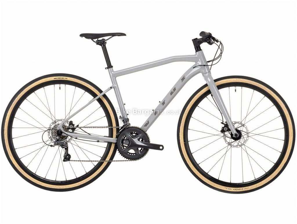 Vitus Mach 3 VR Claris Alloy City Bike 2021 L,XXL, Grey, Alloy Frame, 700c Wheels, Disc Brakes, 16 Speed, Double Chainring