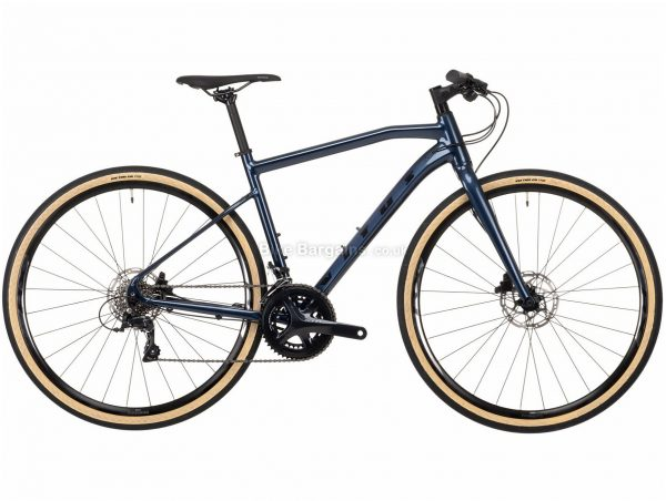 Vitus Mach 3 VRS Sora Alloy City Bike 2021 XL, Blue, Alloy Frame, 700c Wheels, Disc Brakes, 18 Speed, Double Chainring