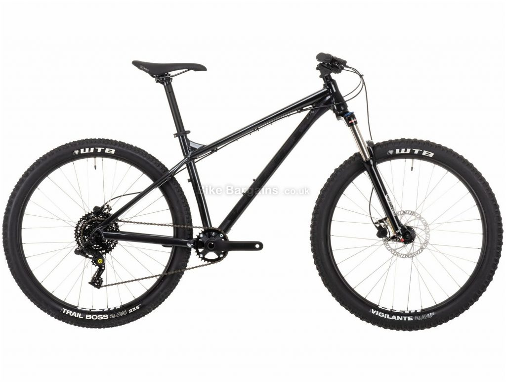 "Vitus Nucleus 27 VR Alloy Hardtail Mountain Bike 2021 L, Blue, Alloy Frame, 27.5"" Wheels, Disc Brakes, 8 Speed, Single Chainring, Hardtail, Suspension Forks"