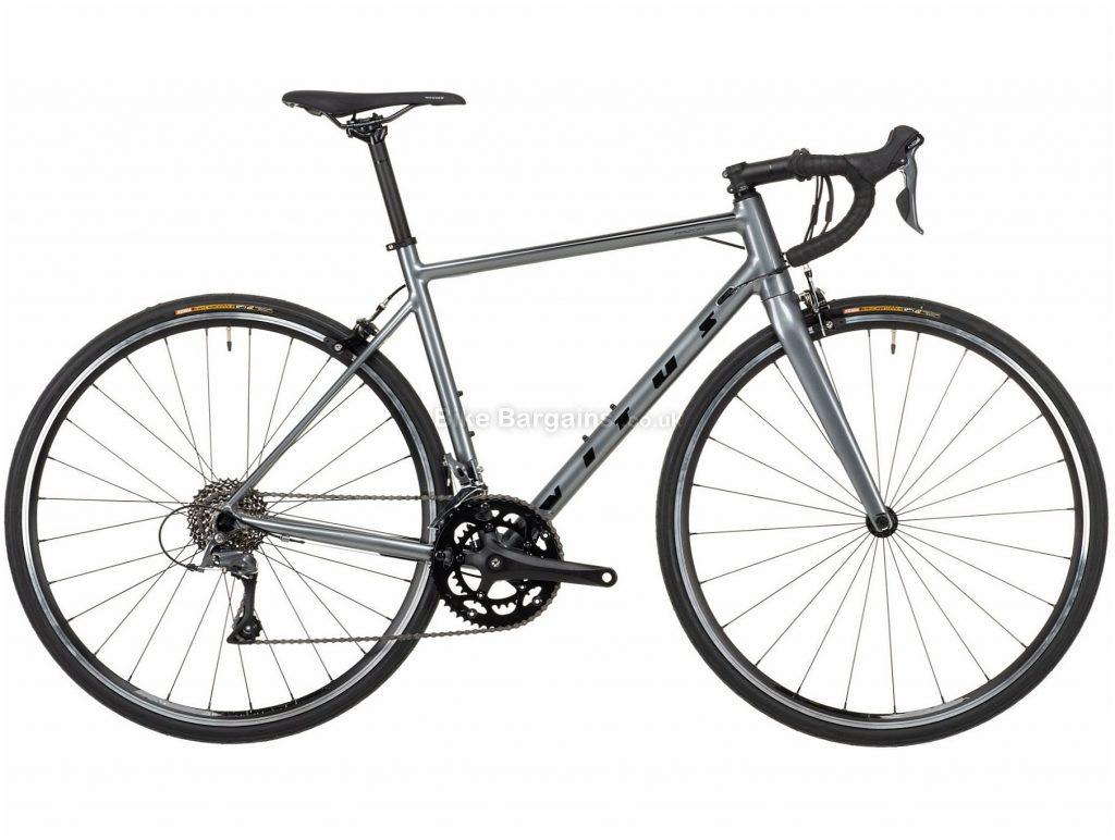 Vitus Razor Claris Alloy Road Bike 2021 S,M,L,XL, Grey, Alloy Frame, 700c Wheels, Caliper Brakes, 16 Speed, Double Chainring