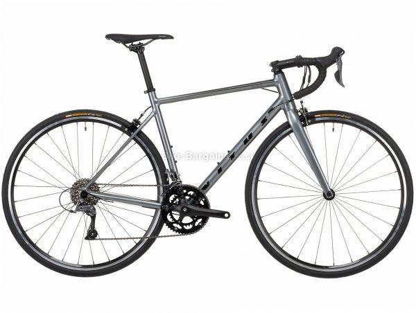 Vitus Razor Claris Alloy Road Bike 2021 XXL, Grey, Alloy Frame, 700c Wheels, Caliper Brakes, 16 Speed, Double Chainring