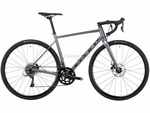 Vitus Razor Claris Disc Alloy Road Bike 2021 XL, Grey, Alloy Frame, 700c Wheels, Disc Brakes, 16 Speed, Double Chainring