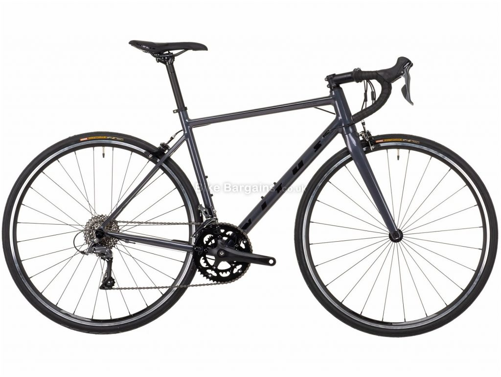 Vitus Razor W Claris Ladies Alloy Road Bike 2021 XS, Grey, Alloy Frame, 700c Wheels, Caliper Brakes, 16 Speed, Double Chainring