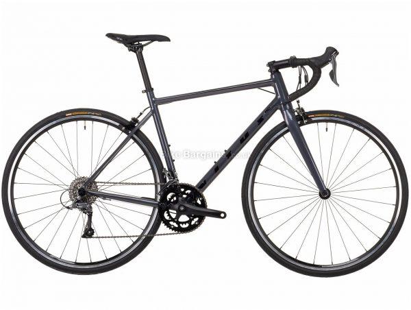 Vitus Razor W Claris Ladies Alloy Road Bike 2021 S, Grey, Alloy Frame, 700c Wheels, Caliper Brakes, 16 Speed, Double Chainring